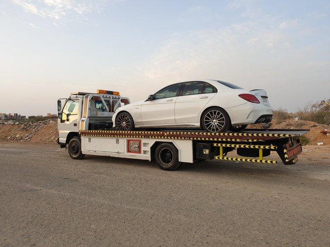 شركة المتانة لشحن السيارات من الامارات الى السعودية
